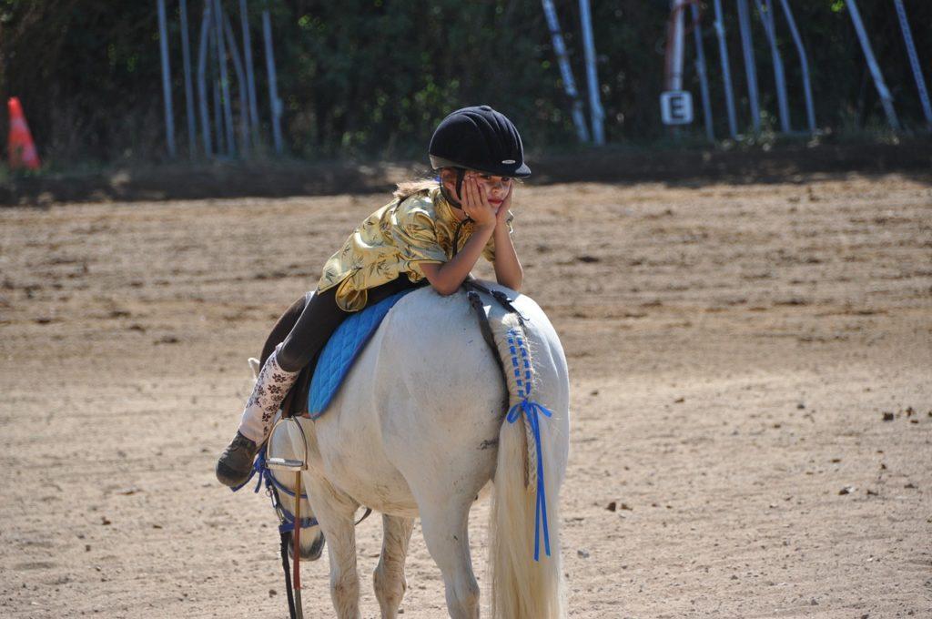 Kind auf Pony